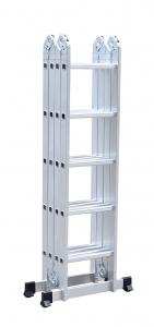 China Multi Functional 4x5 5.8m Aluminium Platform Ladder wholesale