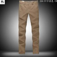China Wholesale hottestNewly mens fashionable B-urberry leisure designer trousers of top quality wholesale