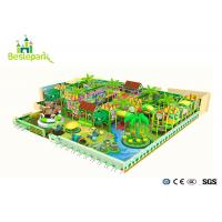Colorful Climb / Jump Kids Indoor Playground Anti Skid 15.86 * 7.32  * 8M