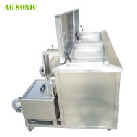China Multi Tanks Ultrasonic Engine Cleaning Machine With Custom Made Tank Size AG - 3072G wholesale