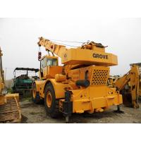 China USED GROVE RT750 50t ROUGH TERRAIN CRANE FOR SALE wholesale