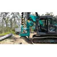 China CFA Constrution Rotary Drilling Rig / Foundation Project hydraulic Piling Rig wholesale