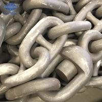 China Heavy Duty Flash Welded Steel Anchor Chain With Class Certificate wholesale