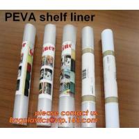 China PEVA SHELF LINER, DRAWER MAT, shower curtain with resin hook set, pattern printed polyester shower curtain bagease pack wholesale