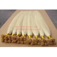 China 100% REMY hair extension, keratin bond hair extension 12-30 length on sale