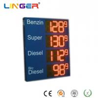 China Custom Made 8.88 Small 9 Led Fuel Price Signs , Led Price Sign For Gas Station wholesale
