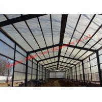China Sandwich Panel Cladding Poultry Steel Framing Systems Structural Steel Construction Shed wholesale