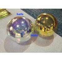 China Small 80cm Inflatable Mirror Balloon Floating Silver Reflective Balloon wholesale