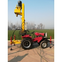 China 36Hp Tractor Mounted 150m Well Drilling Machine With Diesel Engine wholesale