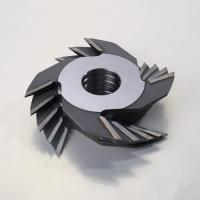 China Carbide Tipped Finger Joint Cutter Steel Body Material Single Piece Type wholesale