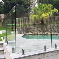 China High Quality Tempered Glass Swimming Pool Fence Philippines Price wholesale