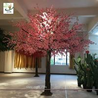 China UVG event and wedding indoor artificial trees with cherry blossom fake flowers for sale CHR171 wholesale