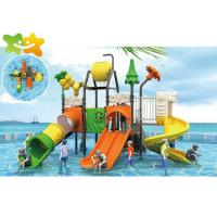 China High Speed Tube Commercial Water Slide Landscape Design With Hair Collector wholesale