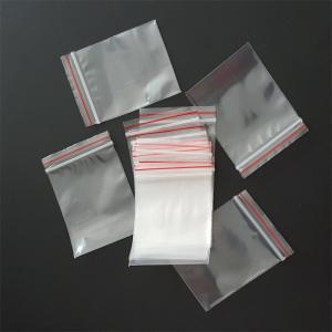 China Customized Zip Top Plastic Bags , Ziplockk Packing Bags High Durability wholesale