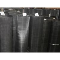 Quality High Tensile Plain Steel Wire Mesh/Black Wire Cloth/Mild Steel Netting for sale