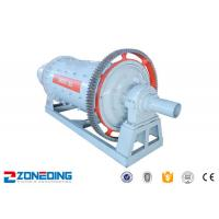 China Ore Quartz Sand Cement Ball Mill Machine AC Motor Large Capacity Simple Structure on sale