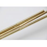 China Copper Zinc Filler Metal Brass Brazing Rod Required Length HS221 Model wholesale