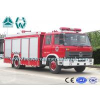 China Multi Occupant Dongfeng Fire Fighting Truck With Double Cabin 6 Tons wholesale