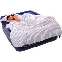China 0.55mm PVC Inflatable Air Beds Double Flocking For Camping wholesale