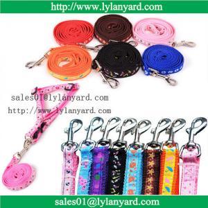 China Pet Dog Nylon Leash Small Large Dog Rope Teddy Chest Rope Harness wholesale
