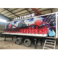 China Anti Rust Paint Trailer Mounted Rides With 5-6 Layers FRP And GB Steel Material wholesale