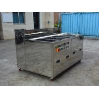 China Multi Tank Industrial Ultrasonic Cleaner For Car / Motor / Truck Wash Rinse Dry Ultrasonic Parts Cleaner wholesale