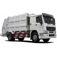 China International Back Loader Garbage Truck / Compactor Garbage Collection Vehicles on sale