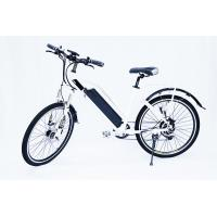 China White Water Proof  Electric City Bike With Fender,250w 36v, 7 speed , front suspemsion wholesale
