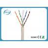 China Gigabit Ethernet Cat6 LAN Cable 23AWG 24AWG UTP Category 6 Cable PVC Jacket wholesale