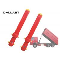Buy cheap GS Certification Single Acting Hydraulic Cylinder High Lift Dumper Front End FC from wholesalers