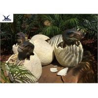 China Playground Park Dinosaur Garden Statue Hatching Animatronic Dinosaur Egg Decoration wholesale