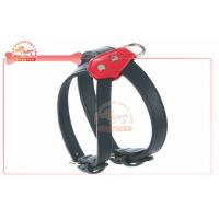 China Luxury Real Leather Pet Harness For Dog In Double Colors large dog travel harness wholesale