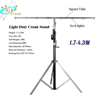 China Crank Up Line Array Truss System Adjustable Height For Light 50kg Load Capacity wholesale
