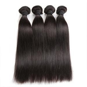 China Double Machine Weft Virgin Human Hair Bundles Long Straight Hair ExtensionsFor Thin Hair wholesale