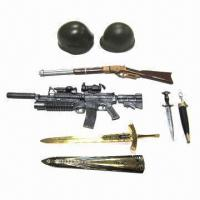China 1/6th Loose Part/Custom 12-inch Action Figure Weapons/Accessories, Made of Plastic and Metal wholesale