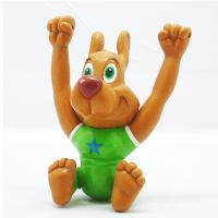 China Dog-shaped Mini Animal Cartoon Figure, Ideal for Chain Stores, Gifts and Premiums wholesale