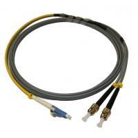 Quality Armored Fiber Optic Patch Cord 62.5/125 MM ST Conditioning Single Mode LC Connector for sale