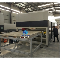China Double Curvature Glass Tempering Furnace for Automotive Backlite / rear glass wholesale