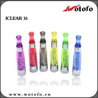 Quality innokin iclear 16 dual coil Four wicks clearomizer ecigs vapor supplier online for sale
