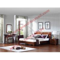 High Quality Wood Bedroom Furniture Set for Luxury Home