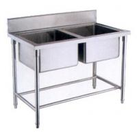 Quality OEM  Deep Double sink stainless steel wash basin for kitchen for sale