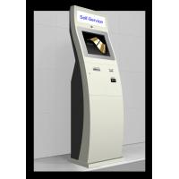 Quality HD Camera Card Dispenser Barcode Scanner Kiosk With Passport Reader for sale
