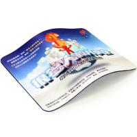 China Multi-functional mouse pad rubber sheet with most popular photo design wholesale
