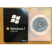 China 32 Bit / 64 Bit Windows 7 Ultimate Retail Box For Activation Guarantee wholesale