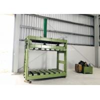 Buy cheap Zinc Coated Reno Gabion Mesh Press Machine / Gabion Mattress With Automatic Oil from wholesalers