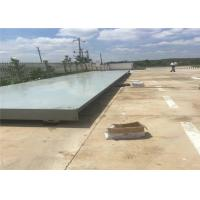 Industrial Electronic Lorry Weighbridge Customized Platform Width IP68 Loadcell Protection