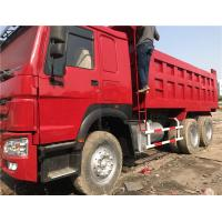 China Low Price Used HOWO 10 Wheels Dump Truck Tipper 6X4 with Good Condition for Africa wholesale