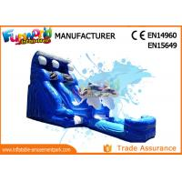 Buy cheap 2018 Cartoon Inflatable Water Slides Water Inflatable Slide For Kids and Adults from wholesalers