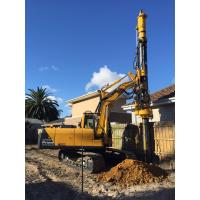 Quality KR50 Hydraulic Foundation Rotary Drilling Rig 20 m Max Drilling Depth 50kN.m Max Torque for sale