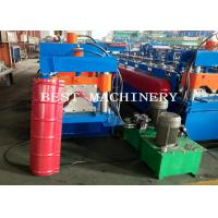 Buy cheap Best Glazed Roof Ridge Cap Roll Forming Machine 3KW 12m/min Production from wholesalers